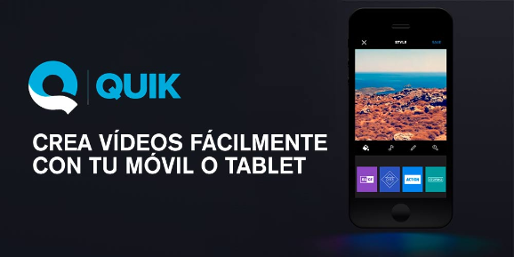 "Imatge amb la frase ""Crea tus videos facilmente con tu movil o tablet"""
